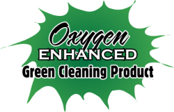 Oxygen Enhanced Product for Cleaning