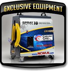 Exclusive equipment used by the Caruso Care, Inc. - NCWLN.
