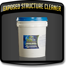 Exposed Structure Cleaner used by the Caruso Care, Inc. - NCWLN and it's SERVICE CENTERS.