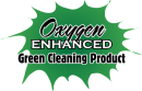 Oxygen enhanced green cleaning products