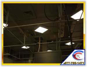 Cleaning Exposed Overhead Structures will eliminate grease that bonds the dirt to the structure