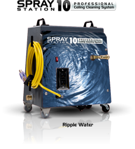 Ceiling Cleaning Machines and Equipment Spray Station 10 - Ripple Water - Model 100107
