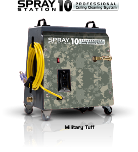 Ceiling Cleaning Machines and Equipment Spray Station 10 - Military Tuff - Model 100114