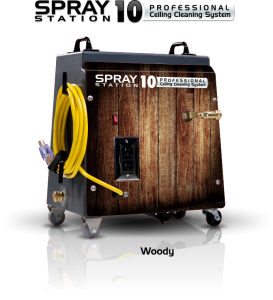 Ceiling Cleaning Machines and Equipment Spray Station 10 - Woody - Model 100111