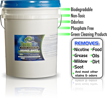 Exposed Structure Cleaner for cleaning exposed structures.
