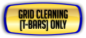 Ceiling Cleaning - Grid Cleaning T-Bars Only.