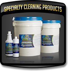 Specialty Cleaning Products used by the Caruso Care, Inc. - NCWLN and it's SERVICE CENTERS.