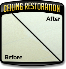 Learn More about Ceiling Restoration or More Importantly what is not Ceiling Restoration.