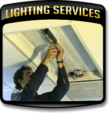 Learn More About our Lighting services, from spot and group relamping to retrofitting of fixtures.