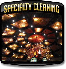 Learn More about Specialty Cleaning Services and the methods of cleaning and restoring specialty cleaning items.