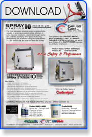 Spray Station 10 - Ceiling Cleaning Machine Spec Sheet