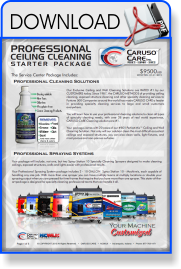 Caruso Care - NCWLN - Ceiling Cleaning Starter Package