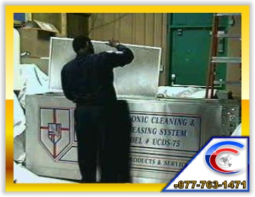 Light Fixture Cleaning by Trained Technicians