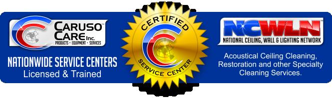 Certified Service Center Logo.