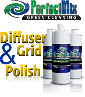 Diffuser & Grid Polish for polishing and cleaning grid systems and diffusers