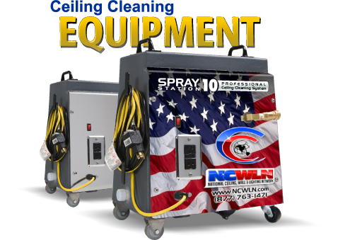 Ceiling Cleaning Equipment - Spray Station 10 in Dallas TX