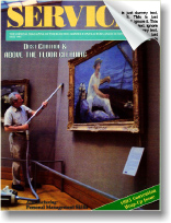 Ceiling Cleaning Article from Services Magazine.