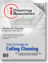 Ceiling Cleaning Article from Installation Cleaning Specialist Magazine.